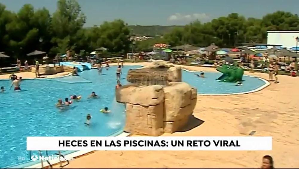 Defecar en las piscinas, el nuevo reto viral que sufre la Comunidad Valenciana
