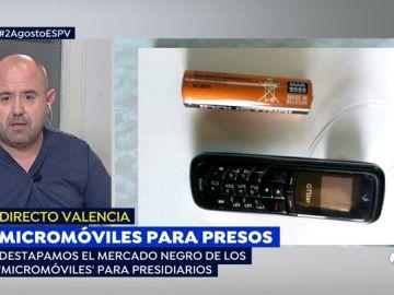 'Micromóviles' para presos