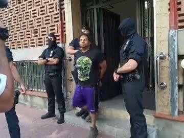Los Mossos D` Esquadra detienen a nueve personas en una operación contra el tráfico de cocaína