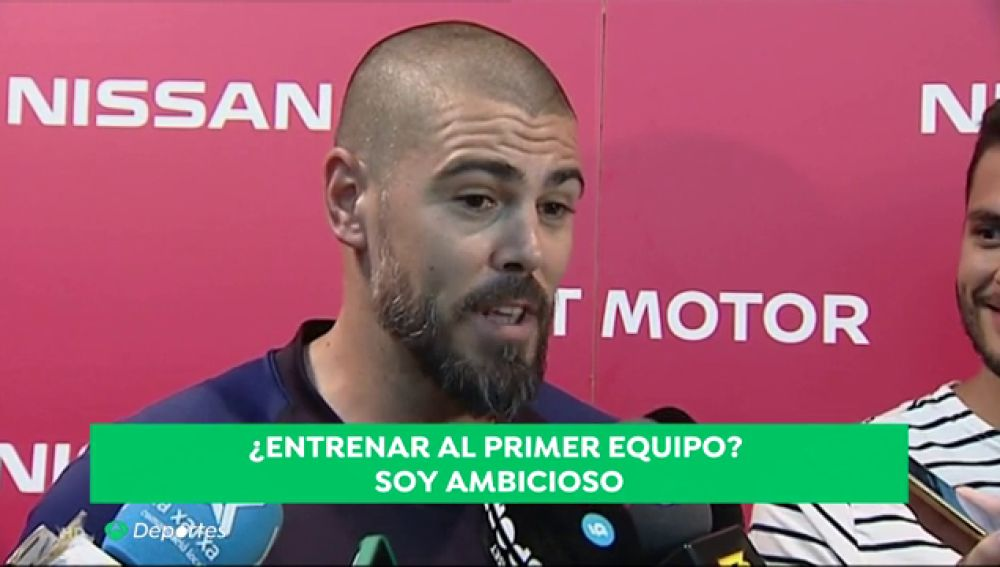 Víctor Valdés debuta como entrenador del Barcelona juvenil con una victoria