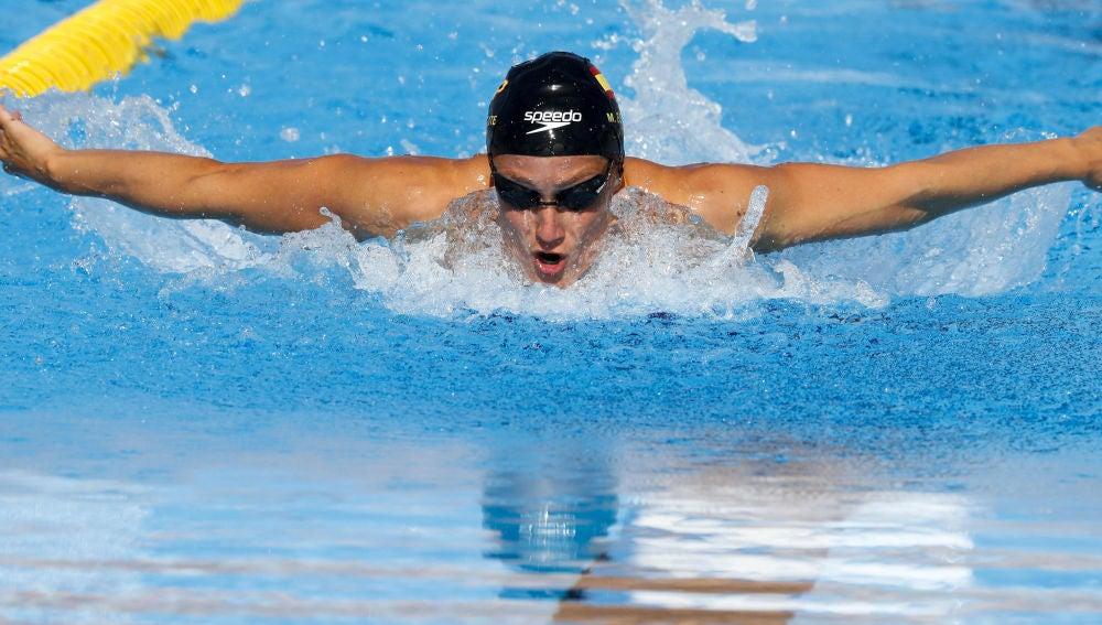 Mireia Belmonte consigue la medalla de bronce en los 400 metros estilos