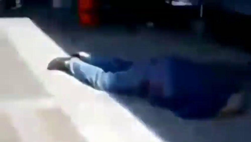 Las violentas imágenes del tiroteo en Texas