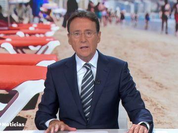 El chiste de Matías Prats sobre las sombrillas y la sombra en la playa