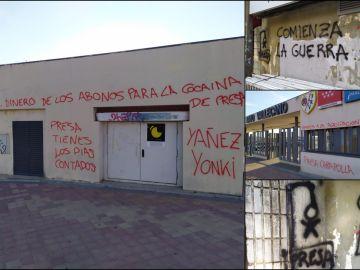 Alrededores del estadio de Vallecas y la ciudad deportiva