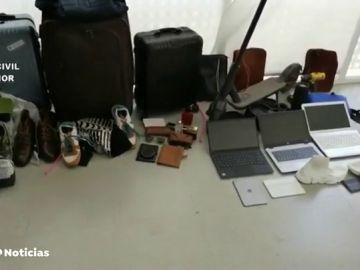 Detenida en Ibiza una banda organizada que robaba en viviendas