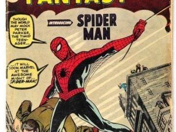 Sale a subasta el primer cómic de Spider-Man, el más buscado del mundo