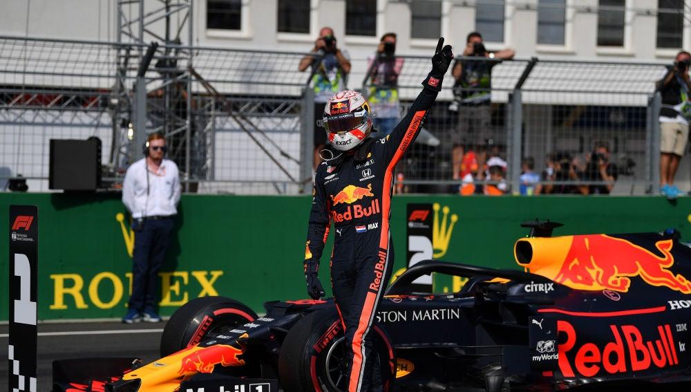 Max Verstappen logra la 'pole' en el GP de Hungría