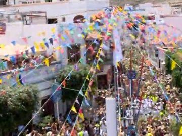 Los grancanarios celebran la fiesta de la Rama en Agaete