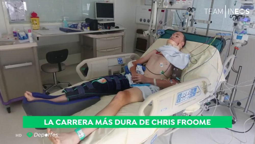 La carrera más dura de Chris Froome: el ciclista inicia la rehabilitación para correr el Tour de 2020