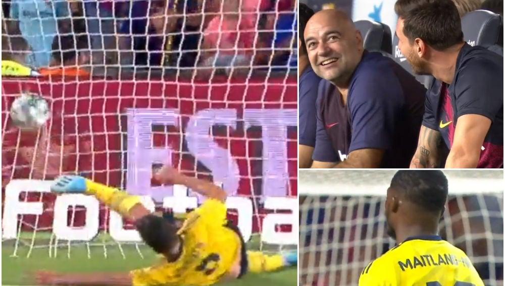 El gol en propia puerta del Arsenal que ponía el empate en el marcador