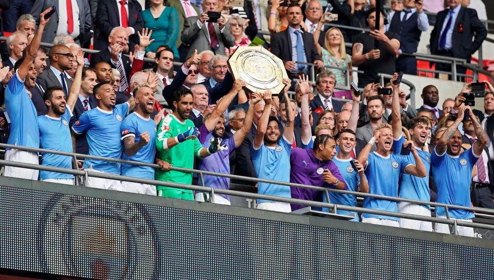 El Manchester City gana la Community Shield