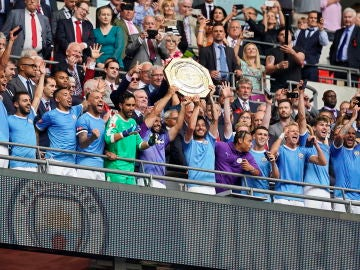 El Manchester City gana la Community Shield