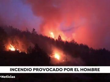 Se investigan las causas de los incendios en la Sierra de Madrid