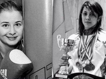 Fátima Zhagúpova y Elina Guisméyeva