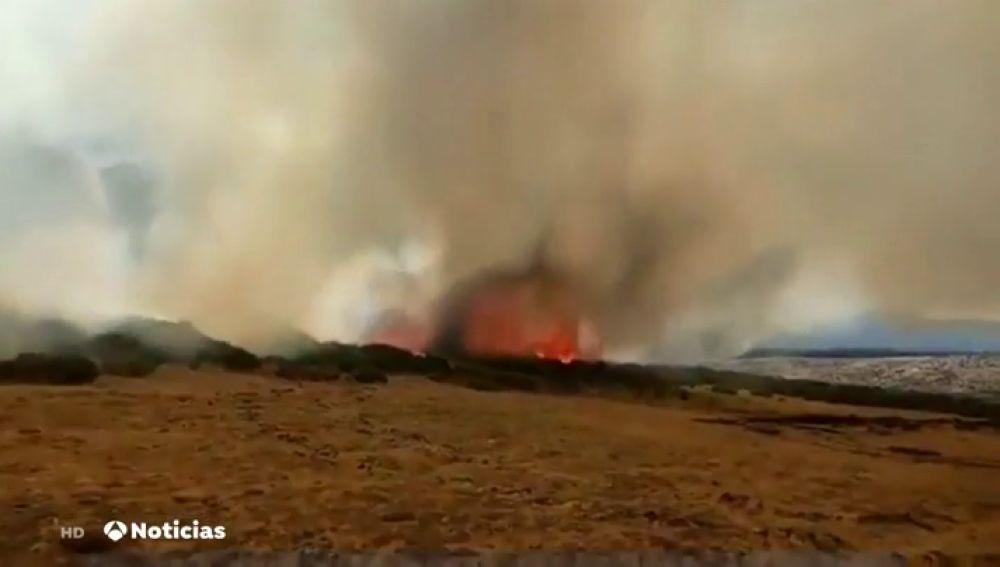 Incendio Madrid Segovia Se Reactivan Varios Focos En El Incendio De La Morcuera