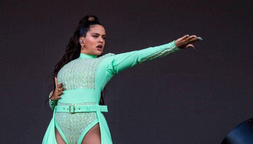 Rosalía derrocha arte en el Festival Lollapalooza de Chicago