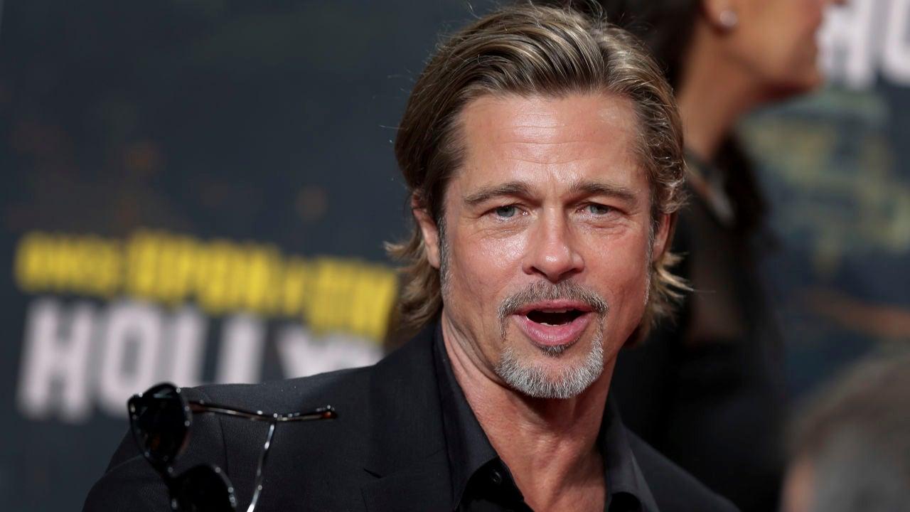 El Beso Que Le Ha Robado A Brad Pitt Una Joven Actriz Muy