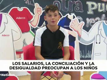 Estas son las preocupaciones y propuestas de los niños españoles para el Gobierno