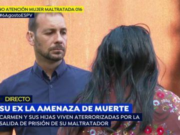 El exmarido saldrá de prisión y la amenza de muerte