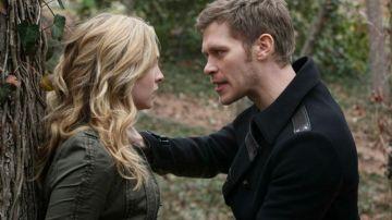 Klaus y Caroline en 'Crónicas Vampíricas'