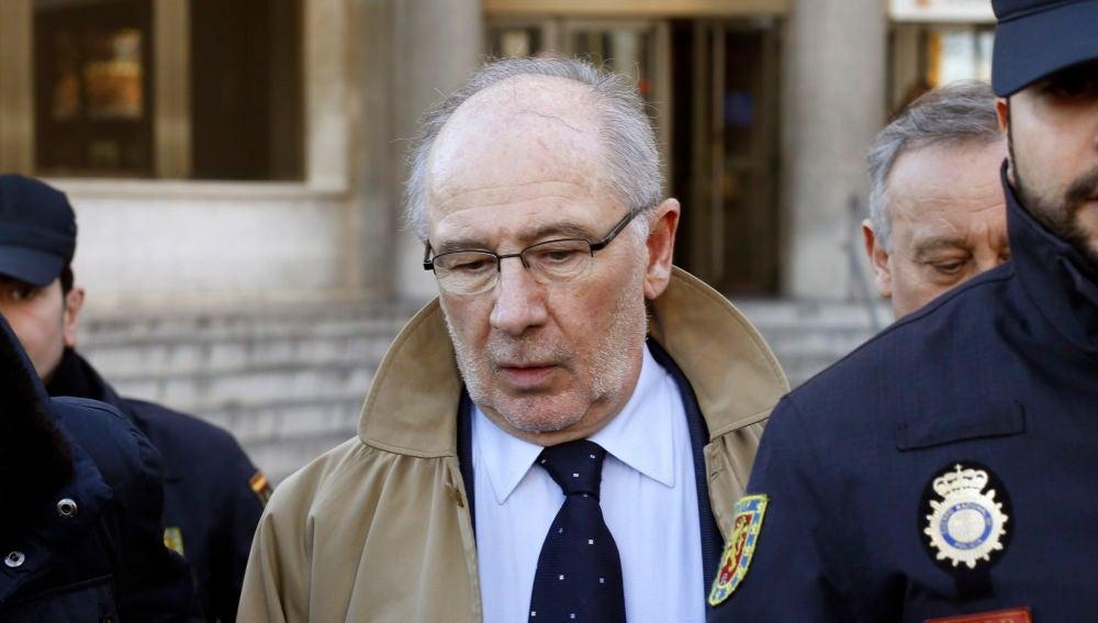 El expresidente de Bankia Rodrigo Rato