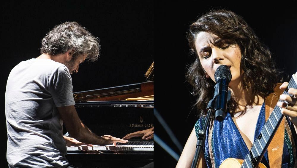 James Rhodes y Katie Melua en el Starlite 2019