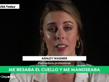 """El terrible relato de Ashley Wagner, subcampeona mundial de patinaje: """"Fui agredida sexualmente cuando tenía 17 años"""""""