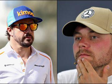 Alonso y Bottas