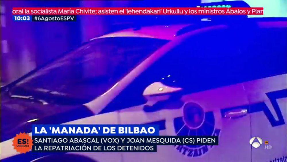 Reacciones políticas sobre el caso de la 'Manada' de Bilbao