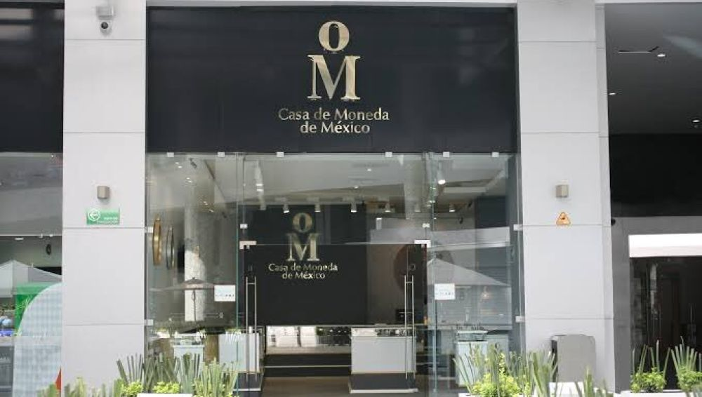 Fachada de la Casa de la Moneda de México