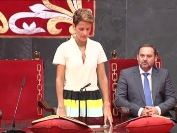 Chivite promete su cargo como presidenta de Navarra