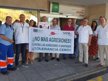 Medicos andaluces protestan contra las agresiones de los pacientes