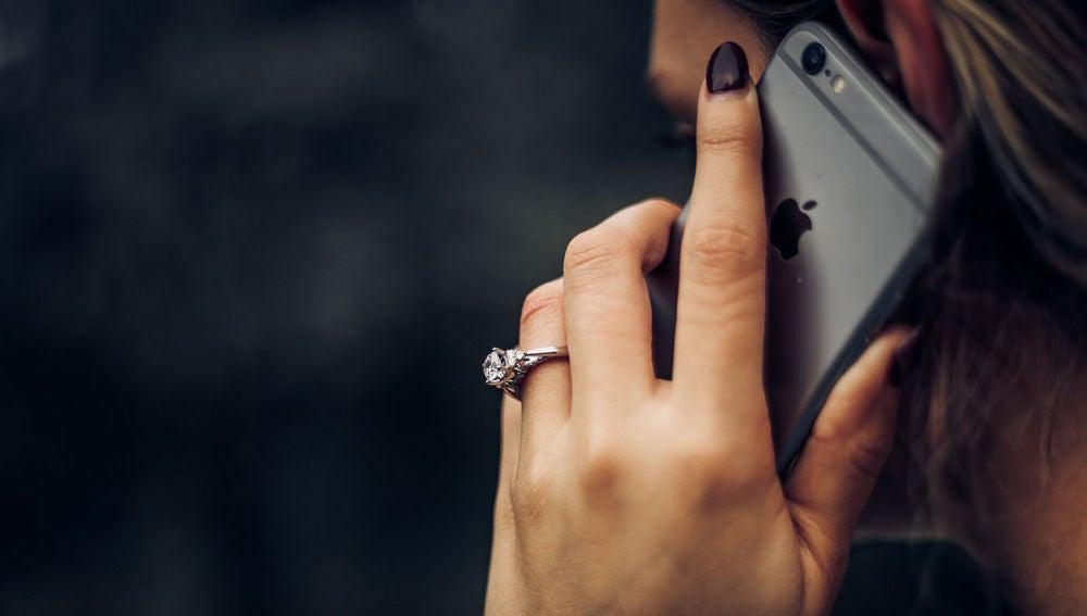 Llamada con un iPhone