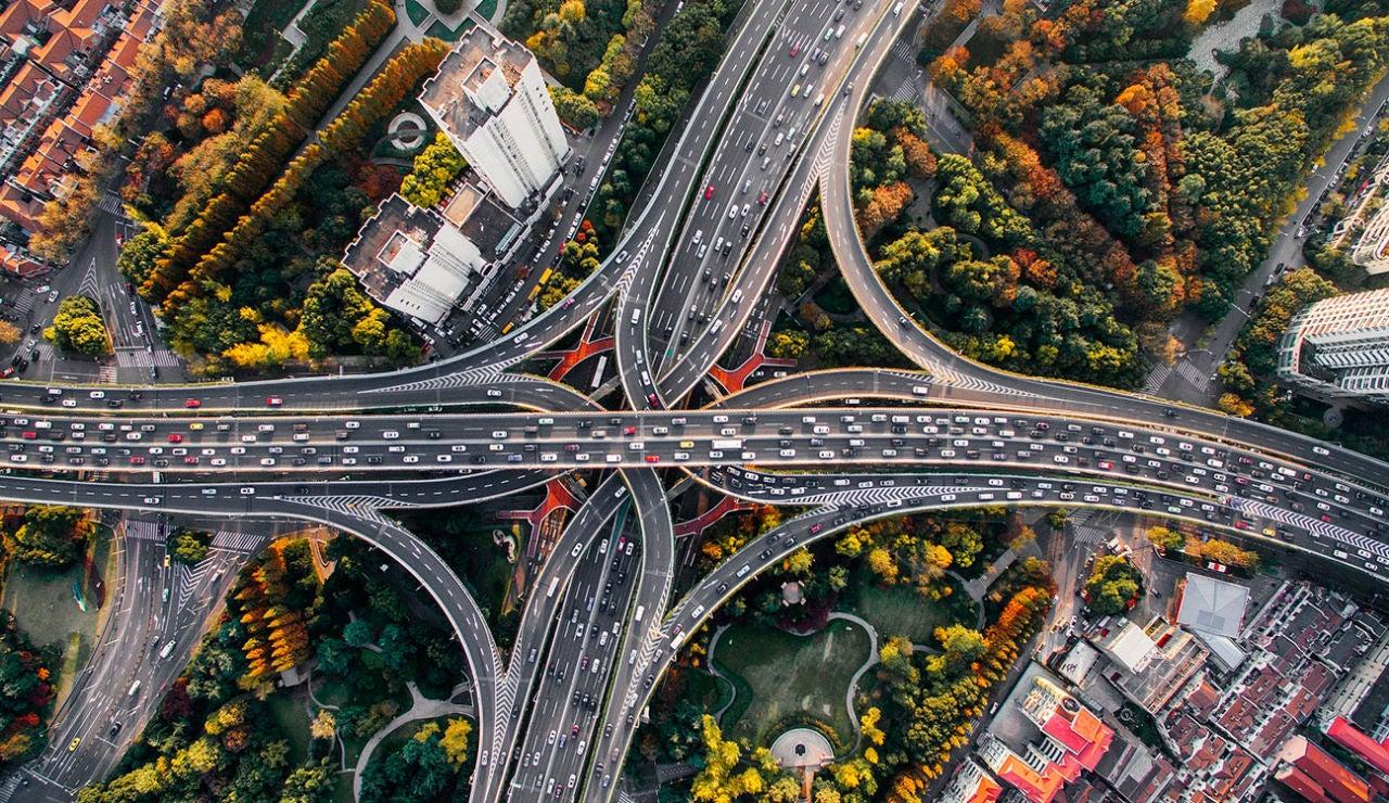Tráfico en autopista