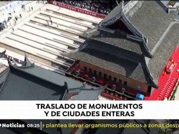Puentes, monumentos o ciudades enteras que se han trasladado de lugar