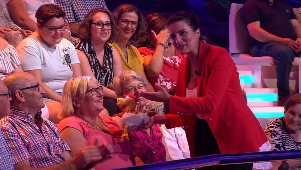 Silvia Abril presenta a su equipo de confianza en '¡Ahora caigo!'