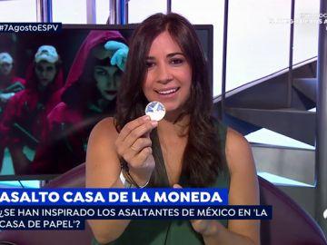 Periodista mexicana sobre el robo en la Casa de la Moneda de México