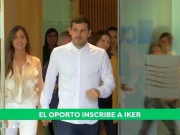 Casillas, inscrito para jugar la liga portuguesa con el Oporto