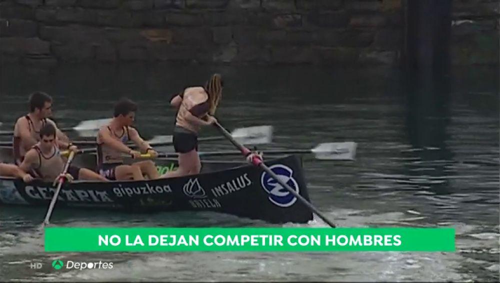 Impiden a la patrona Izaro Lestayo su participación en la Bandera de La Concha por ser mujer