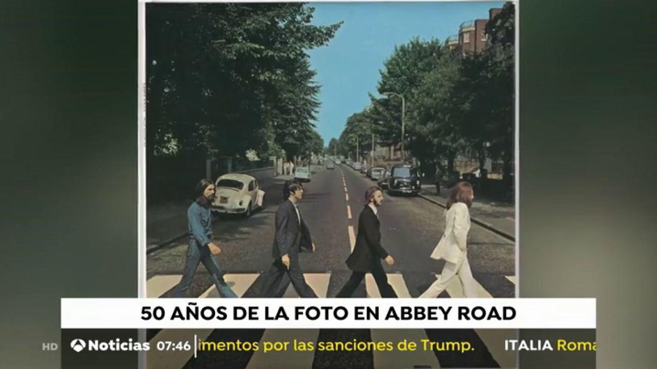 The Beatles: 'Abbey Road' Sigue Siendo Un Icono 50 Años
