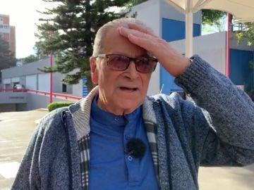Francisco emocionado en 'Por el mundo al los 80'