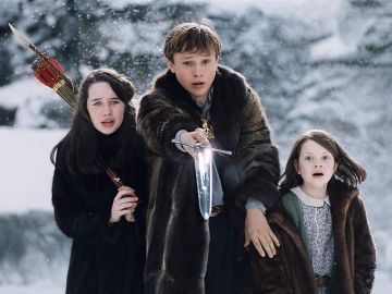 Los protagonistas de 'Las Crónicas de Narnia'