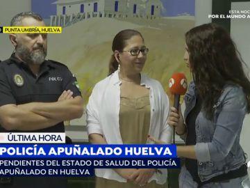 Policía apuñalado en Huelva por un vendedor ambulante