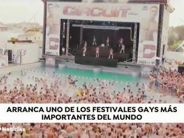 Comienza el Circuit, uno de los festivales gays más importantes del mundo