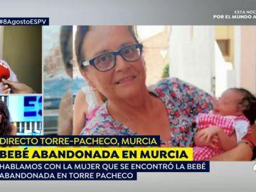 Bebé abandonado en Murcia