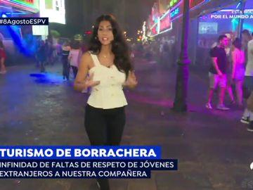 Turismo de borrachera: faltas de respeto a reportera de 'Espejo Público'