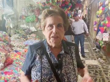 Maria Luisa después de una 'limpia' en 'Por el mundo a los 80'