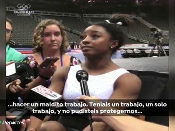"""Simone Biles explota contra la Federación de EEUU por el caso Larry Nassar: """"Sólo teníais que protegernos"""""""