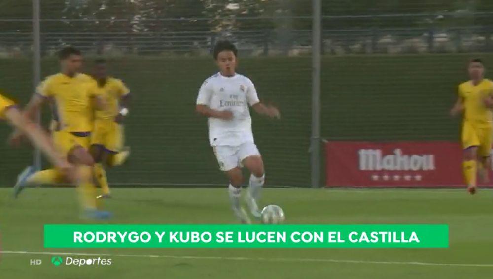 Rodrygo y Kobe, los grandes protagonistas en la victoria del Real Madrid Castilla