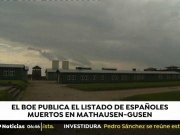 El BOE publica los nombres de los 4.427 republicanos españoles que murieron en Mauthausen